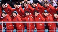 Dàn hoạt náo viên của Triều Tiên gây sốt ở Olympic mùa Đông 2018