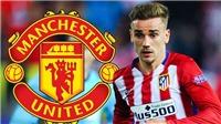 CHUYỂN NHƯỢNG M.U 2/2: Vẫn mơ về Griezmann, quyết mua Umtiti của Barca