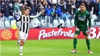 Dybala lập cú đúp, Juventus soán ngôi đầu Napoli. Milan ngoạn mục có 3 điểm