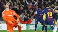 HLV Valverde thừa nhận Barca đã may mắn khi loại được Chelsea