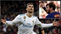 Ronaldo dùng Messi để ra 'yêu sách' về lương mới với Real Madrid