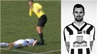 Cầu thủ Croatia qua đời sau khi bị sút bóng trúng ngực