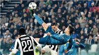 Cả thế giới bóng đá bàng hoàng trước cú ngả người móc bóng của Ronaldo