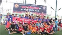 Giải bóng đá MUSVN Miền Bắc 2018 tổ chức ở Lạng Sơn