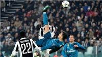 VIDEO: Cầu thủ Real và Juventus phản ứng thế nào sau siêu phẩm của Ronaldo?