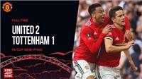 Cặp Pogba - Sanchez bùng nổ, M.U thắng Tottenham 2-1, lọt vào Chung kết FA Cup