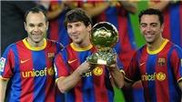 France Football công khai xin lỗi Iniesta vì chưa bao giờ trao Bóng vàng cho anh