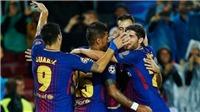 Barca 2-1 Valencia: Suarez và Umtiti lập công, Barca hạ sát 'Bầy dơi'