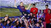 Iniesta chỉ ra 3 cái tên có thể kế thừa vị trí của mình ở Barca