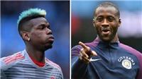 Yaya Toure bất ngờ muốn thi đấu cùng Pogba
