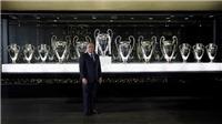 Real Madrid đau đầu vì không còn chỗ... bày cúp bạc Champions League