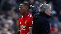 Chuyển nhượng M.U: Anthony Martial công khai đòi rời Old Trafford