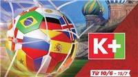 Gói truyền hình nào lên ngôi mùa World Cup?