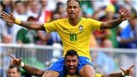 Video clip bàn thắng Brazil 2-0 Mexico: Neymar và Firmino tiễn Mexico về nước