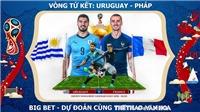 Soi kèo và trực tiếp vòng Tứ kết World Cup 2018
