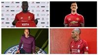 Chuyển nhượng Premier League: M.U, Chelsea, Man City, Arsenal, Liverpool và Tottenham