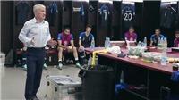 Lộ clip Deschamps yêu cầu học trò 'chuyền bóng cho Mbappe khi có thể' trận gặp Croatia