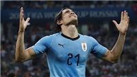 ĐIỂM NHẤN Uruguay 2-1 Bồ Đào Nha: Cavani dạy cho Ronaldo một bài học. Uruguay thành công với sơ đồ 4-4-2