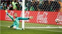 Không cản được quả penalty nào, De Gea bị chỉ trích là vô dụng