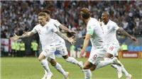 CĐV Anh phát sốt với pha đá phạt trực tiếp như Beckham của Trippier