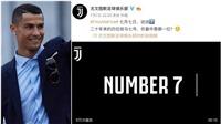 Juventus để lộ clip giới thiệu Ronaldo trên mạng xã hội