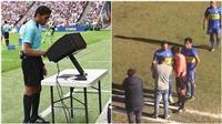 Trọng tài Peru sử dụng công nghệ VAR qua... máy ảnh
