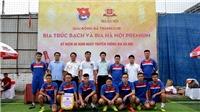 Thanh niên TTXVN tranh tài ở giải bóng đá kỷ niệm ngày thành lập Habeco