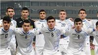 Trực tiếp U23 Uzbekistan vs U23 Palestine (16h30,05/8)