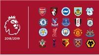 Lịch thi đấu vòng1 Ngoại hạng Anh mùa 2018-19
