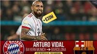 Barca xác nhận Arturo Vidal sẽ kí hợp đồng 3 năm với CLB