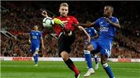 """Video clip bàn thắng M.U 2-1 Leicester: Pogba và Luke Shaw mang về 3 điểm cho """"Quỷ đỏ"""""""