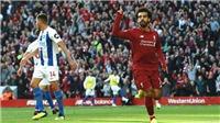 Video clip bàn thắng Liverpool 1-0 Brighton: Salah tỏa sáng ở Anfield