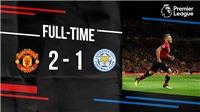 ĐIỂM NHẤN M.U 2-1 Leicester: Pogba xứng danh đội trưởng. Shaw ghi điểm. Tín hiệu tích cựctừ Fred