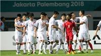 3 đội Đông Nam Á có thành tích ngoạn mục ở vòng bảng ASIAD, U23 Việt Nam góp mặt