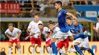 Italy 1-1 Ba Lan: Jorginho giải cứu đội bóng áo Thiên thanh