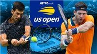 Link xem TRỰC TIẾP chung kết Mỹ mở rộng (US Open 2018): Del Potro vs Djokovic
