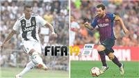 Ronaldo và Messi có chỉ số cao nhất trong FIFA 19