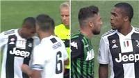 Juventus: Douglas Costa đối diện án phạt nặng vì húc đầu và nhổ nước bọt vào mặt đối thủ