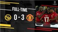 VIDEO Young Boys 0-3 M.U: Pogba toả sáng với cú đúp, Martial ghi bàn
