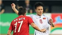 CẬP NHẬT tối 6/9: U23 Việt Nam được xem là số 1 ĐNA. Quang Hải được trang chủ AFF Cup vinh danh