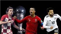 The Best 2018: Luka Modric giành giải Cầu thủ xuất sắc nhất năm của FIFA