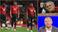 Paul Scholes thay đổi 180 độ khi ủng hộ Mourinho... ở lại M.U
