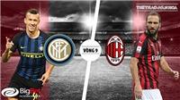 Soi kèo Inter Milan vs AC Milan (01h30 ngày 22/10), Vòng 9 Serie A