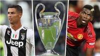 Trận M.U vs Juventus (02h00, 24/10) trực tiếp trên kênh nào?