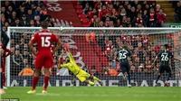 Video clip bàn thắng Liverpool 0-0 Man City: Salah và Aguero tịt ngòi, Mahrez tội đồ