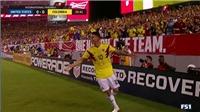 """James Rodriguez cứa lòng hoàn hảo vào lưới tuyển Mỹ, được gọi """"thánh siêu phẩm'"""