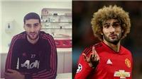 Marouane Fellaini bị đồng đội chế nhạo, cộng đồng mạng chế ảnh vì 'xuống tóc'