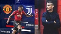 Nhận định và dự đoán trận Juventus vs M.U (03h00, 08/11)