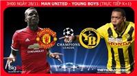 Soi kèo M.U vs Young Boys (03h00 ngày 28/11), vòng bảng Cúp C1