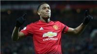 Martial nói gì sau khi được bầu là Cầu thủ xuất sắc nhất tháng của M.U?
